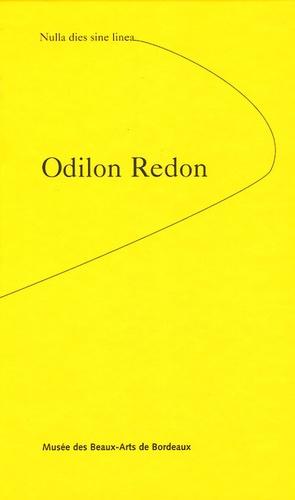 Dominique Cante et Nathalie Bienvenu - Odilon Redon - Nulla dies sine linea.