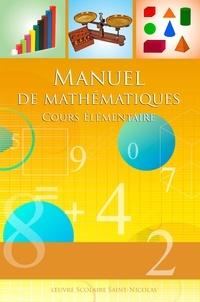 Dominique Carcassonne - Manuel de Mathématiques cours élémentaire.