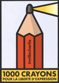 Dominique Cardon et Michel Bouvet - 1000 crayons pour la liberté d'expression.