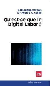 Dominique Cardon et Antonio Casilli - Qu'est-ce que le Digital Labor ?.