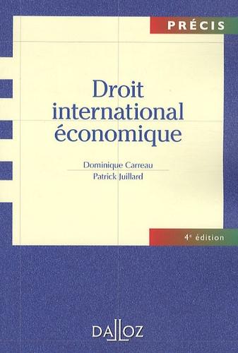 Droit international économique 4e édition
