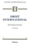 Dominique Carreau - Droit international.