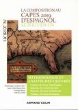 Dominique Casimiro et Juan Carlos Baeza Soto - La composition au CAPES d'espagnol - Le tout-en-un, méthodologie et analyse des 4 oeuvres.