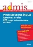 Dominique Catteau et Haimo Groenen - Professeur des écoles - Epreuves orales EPS + Agir en fonctionnaire de l'Etat.