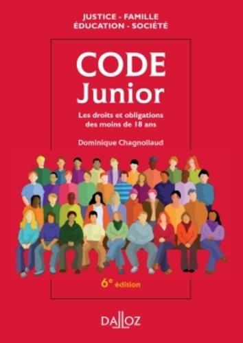 Dominique Chagnollaud - Code junior - Les droits et obligations des moins de 18 ans.