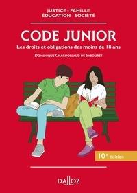 Dominique Chagnollaud de Sabouret - Code Junior.