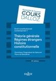 Dominique Chagnollaud de Sabouret et Pierre de Montalivet - Droit constitutionnel contemporain - Tome 1, Théorie générale ; Les régimes étrangers ; Histoire.