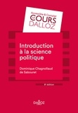 Dominique Chagnollaud de Sabouret - Introduction à la science politique.