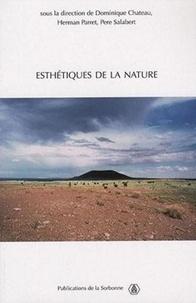 Dominique Chateau et Herman Parret - Esthétiques de la nature.