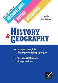 Dominique Chathuant - History & Geography - Vocabulaire, outils, méthodes.
