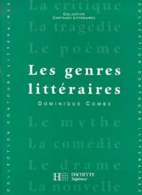 Dominique Combe - Les genres littéraires.