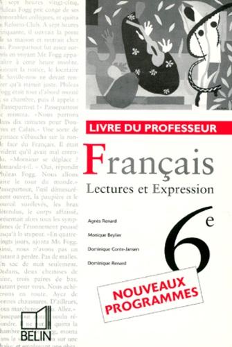 Francais 6eme Lectures Et Expression Livre Du Professeur Programme 1996