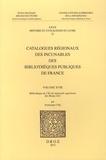 Dominique Coq - Catalogues régionaux des incunables des bibliothèques publiques de France - Volume 18, Bibliothèque de l'Ecole nationale supérieure des Beaux-Arts.