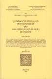 Dominique Coq - Catalogues régionaux des incunables des bibliothèques publiques de France - Volume 20.
