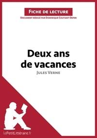 Dominique Coutant-Defer - Deux ans de vacances de Jules Verne - Fiche de lecture.
