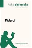 Dominique Coutant-Defer et  LePetitPhilosophe.fr - Philosophe  : Diderot (Fiche philosophe) - Comprendre la philosophie avec lePetitPhilosophe.fr.