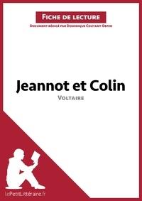 Dominique Coutant-Defer - Jeannot et Colin de Voltaire - Fiche de lecture.