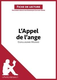 Dominique Coutant-Defer - L'appel de l'ange de Guillaume Musso - Fiche de lecture.