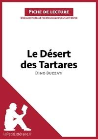 Dominique Coutant-Defer - Le Désert des Tartares de Dino Buzzati - Fiche de lecture.
