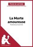 Dominique Coutant - lePetitLittéraire.fr  : La morte amoureuse de Théophile Gautier (Fiche de lecture).