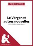 Dominique Coutant - lePetitLittéraire.fr  : Le Verger et autres nouvelles de Georges-Olivier Châteaureynaud (Fiche de lecture).