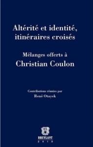 Dominique Darbon - Altérité et identité, itinéraires croisés.