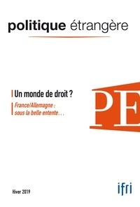Dominique David - Politique étrangère N° 4, décembre 2019 : .
