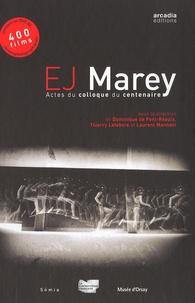 Dominique de Font-Réaulx et Thierry Lefebvre - Etienne-Jules Marey - Actes du colloque du centenaire. 1 DVD