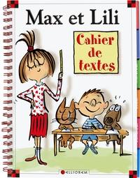Histoiresdenlire.be Cahier de textes Max et Lili Image