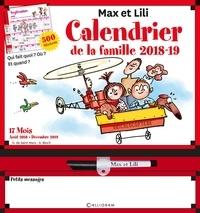 Calendrier de la famille Max et Lili - Avec 1 feutre effaçable.pdf