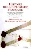 Dominique de Villepin et Jean-Claude Allain - Histoire de la diplomatie française.