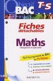 Dominique Dejean - Maths Tle S.