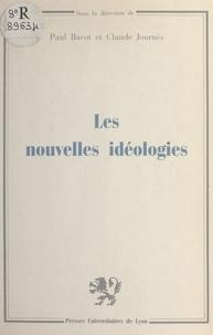 Dominique Deporcq et Francine Demichel - Les Nouvelles idéologies - [colloque, Université de Lyon II, 5-6 février 1982].