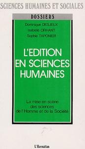 Birrascarampola.it L'Edition en sciences humaines - La mise en scène des sciences de l'homme et de la société Image