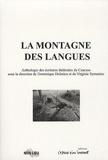 Dominique Dolmieu et Virginie Symaniec - La montagne des langues - Anthologie des écritures théâtrales du Caucase.