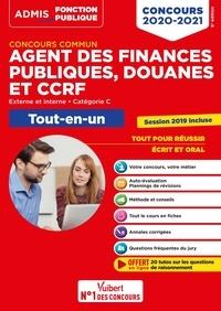 Dominique Dumas et Dominique Herbaut - Concours commun Agent des finances publiques, douanes et CCRF Externe, interne, catégorie C - Tout-en-un.