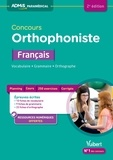 Dominique Dumas - Concours orthophoniste français - Vocabulaire, grammaire, orthographe.