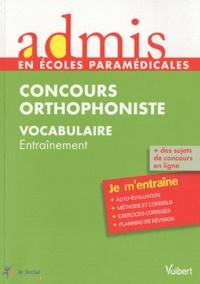 Dominique Dumas - Concours orthophoniste, vocabulaire - Entraînement.