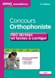 Dominique Dumas - Concours orthophoniste - 164 dictées et textes à corriger.