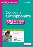 Dominique Dumas - Concours orthophoniste - 5000 exercices d'orthographe.
