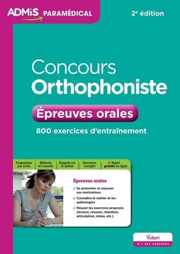 Dominique Dumas et Julie Camoin - Concours orthophoniste - Epreuves orales.
