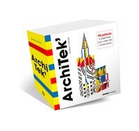 Dominique Ehrhard - ArchiTek' - 95 pièces à assembler pour créer des constructions.