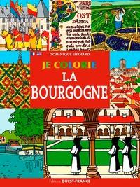 Dominique Ehrhard - Je colorie la Bourgogne.