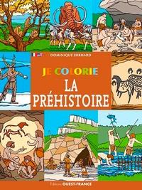 Dominique Ehrhard - Je colorie la Préhistoire.