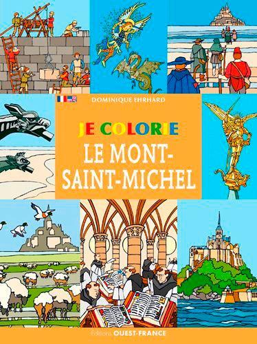 Je colorie le Mont St-Michel