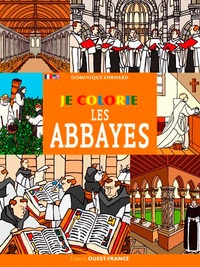 Dominique Ehrhard - Je colorie les abbayes.