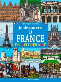 Dominique Ehrhard - Je découvre la France en coloriant.