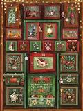 Dominique Evangelisti - Calendrier de l'Avent l'armoire de Noël.