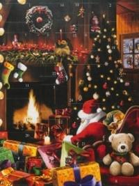 Dominique Evangelisti - Calendrier de l'avent : Le père Noël est passé.
