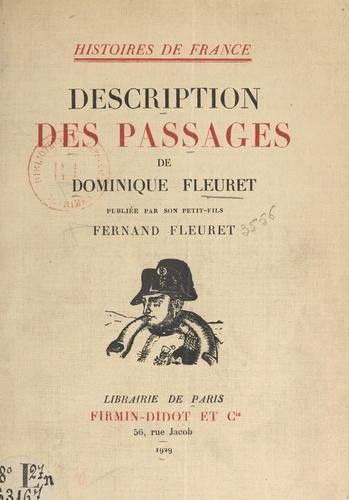 Description des passages de Dominique Fleuret